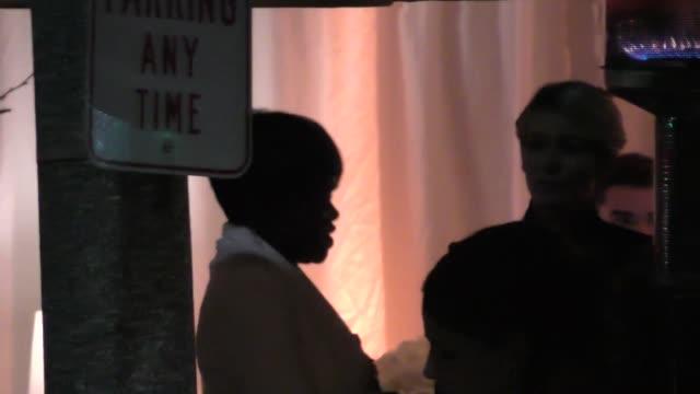 Viola Davis outside the Vanity Fair Oscar Party in Celebrity Sightings in Los Angeles