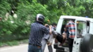 Violence breaking out in Delhi after the popular spiritual leader Gurmeet Ram Rahim Singh was found guilty of rape