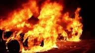 Violent intense riots