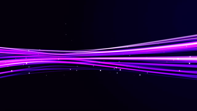 HD Violet Light streaks abstract background animation (Loop)