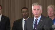 WTVR Virginia Governor Speaks at Press Conference After Deadly Charlottesville Car Attack on Aug 12 2017