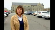 Controversy over broadcast of video made by gunman Virginia Blacksburg Virginia Tech University EXT Reporter to camera