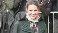 Virginie Ledoyen Marie Ange Casta Cecile Cassel Caroline de Maigret Anne Sinclair Ines de la Fressange and more attending the Chanel Spring Summer...