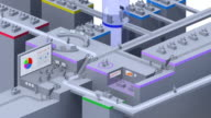 3D virtual office