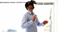 Virtual reality headset gives an immersive experience