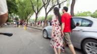 T/L WS Visit Streets at Shichahai Lake / Beijing, China