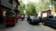 Visit Streets at Shichahai Lake / Beijing, China