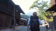 Visiting Tsumago (slow motion)