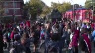 A vispera de la Copa America en Chile el ambiente en su capital esta marcado por protestas que exigen mayor participacion en la reforma educativa que...