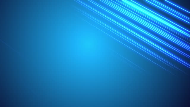 Visualization of light reflecting off horizontal lines on blue background.