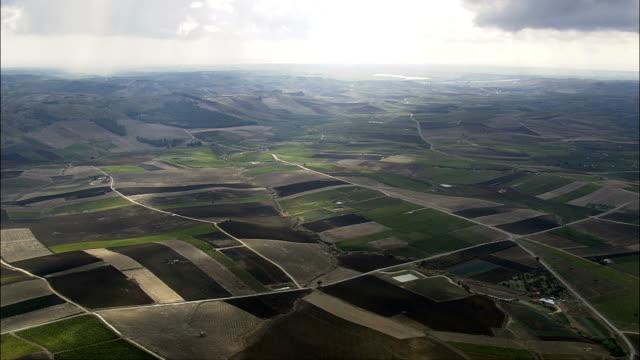 Vita And Landscape  - Aerial View - Sicily, Province of Trapani, Vita, Italy