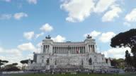Vittorio Emanuele or Altare della Patria Monument in Rome
