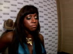 MAC Viva Glam Party for the MAC Aids fund Red carpet interviews Mica Paris interview SOT On makeup she cannot live without / I'm lucky / I've got...