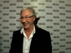 MAC Viva Glam Party for the MAC Aids fund Red carpet interviews Paul O'Grady speaking to press SOT Oh can I go I'm dry as a bone / You've got ten...