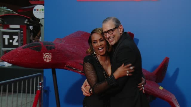 "Vivica A Fox Jeff Goldblum at Twizzlers is ready for battle at Fox's ""Independence Day Resurgence"" Screening with Vivica A Fox at TCL Chinese Theatre..."