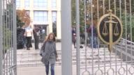 Vladimir Kozin lawyer of Russian billionaire Vladimir Yevtushenkov is seen as Moscow court on Thursday ordered Yevtushenkov to remain under house...