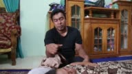 Voice Mansur M Diah Husband of Syarifah Maisura when the earth quake happening i was at Lhoksemaue and when i hear the news i rushed to my home I was...