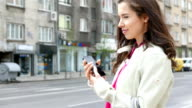 Voice message on the street