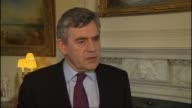 Volcano ash cloud prevents air travel for a 5th day Gordon Brown statement Question Is the government being too cautious Brown answer SOT I'm...