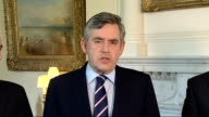 Volcano ash cloud prevents air travel for a 5th day Gordon Brown statement Gordon Brown statement continued SOT worried about inconvenience to...