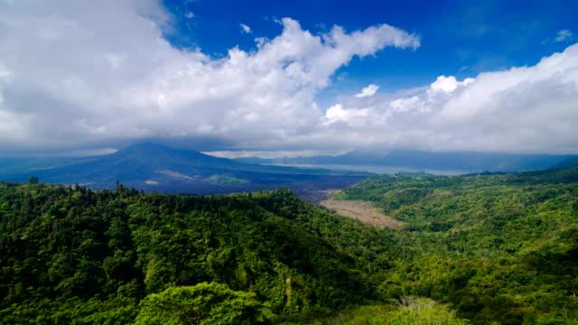 volcano Gunung Batur, Bali, Indonesia