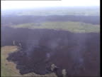 ENVIRONMENT/ DISASTERS Volcano in Goma ITN DEMOCRATIC REPUBLIC OF CONGO Goma EXT River of lava flowing into Lake Kivo Steam rising from Lake GVs...