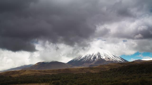 TIME LAPSE: Volcano Mt Ngauruhoe