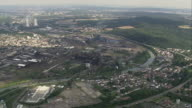 AERIAL Volklingen Iron Works, Saarland, Germany