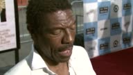 Vondie Curtis Hall on the film on Petey Greene on supporting his wife's film and on Film Independent as an organization at the 'Talk To Me' 2007 Los...