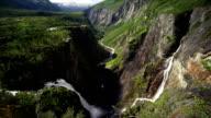 Voringfossen cascata Norvegia