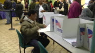 MS Voter casts ballot at early voting location two days before presidential election / Toledo, Ohio, United States