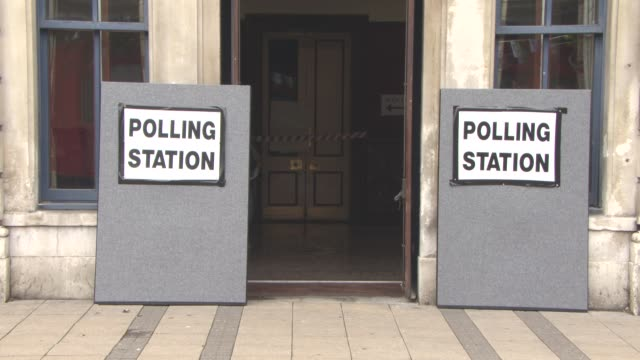 VIEWS Voters go to the polls at Newham Town Hall for The EU Referendum The UK Votes on June 23 2016 in London England