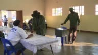 Voters go to the polls in Botswanas general elections with the ruling party facing an unprecedented test against an invigorated opposition in one of...