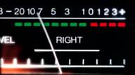 vu meter audio analog