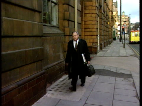 verdicts on victims' deaths ITN ENGLAND Manchester MS Leonard Gorodkin towards past