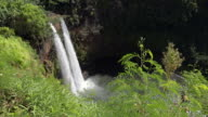Wailua Falls, Kauai in Wailua River State Park, Hawaii