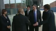 Wakefield City Academies Trust pulls out of running schools LIB / 692007 Gordon Brown MP arriving at school accompanied by Ed Balls