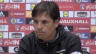 Wales manager Chris Coleman prematch press conference before World Cup qualifier against Austria in Cardiff on Saturday night