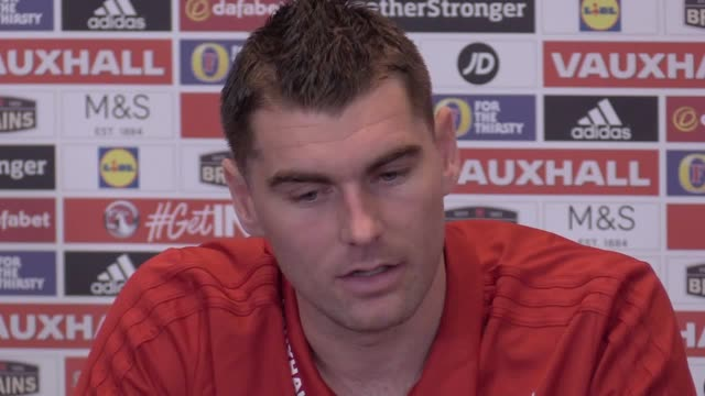 Wales striker Sam Vokes and midfielder Andy King speak ahead of Friday's friendly match against France in Paris