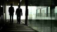 Walking business meeting