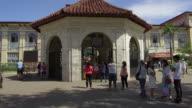 Walking into Magellan's Cross Chapel