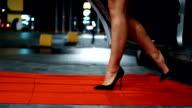Auf dem roten Teppich