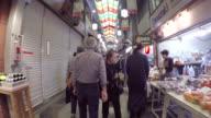 Walking the Nishiki market