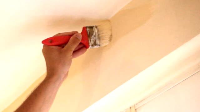 Vernice per pareti lavoro.