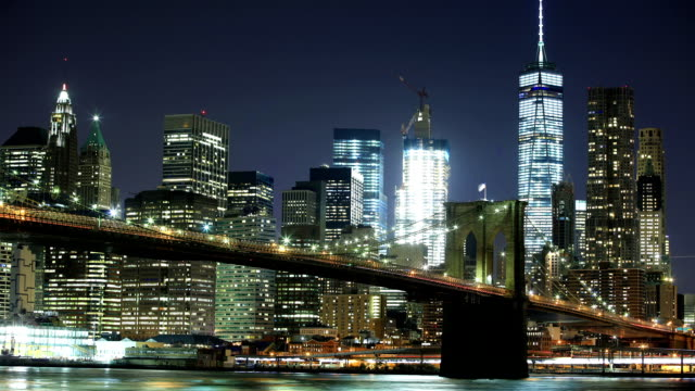 Wall st and One-world trade center