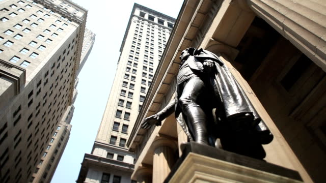 Wall Street, George Washington, NYC