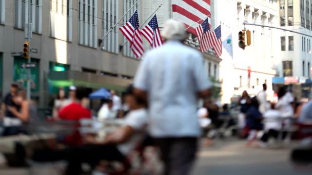 Wall Street a New York City