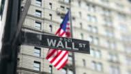 Wall Street Sign (inclinazione della lente a scorrimento