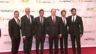 Wallace Langham Ted Danson Eric Szmanda HSH Prince Albert II of Monaco Jerry Bruckheimer and Adam Rodriguez at 54th MonteCarlo Television Festival...