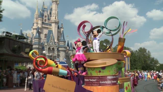 Walt Disney World Spring celebrations at Walt Disney World at Walt Disney World on April 11 2011 in Orlando / Kissimmee Florida